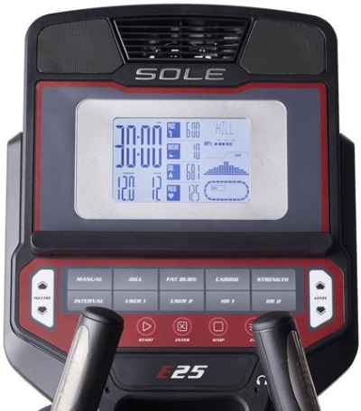 e25 sole elliptical